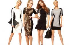 Panelowe sukienki - skutecznie wyszczuplaj�!