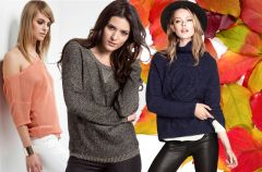 Swetry - kolekcje na jesie� i zim� 2013/14