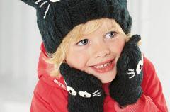 We�niane czapeczki dla dzieci