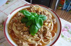 Zupa ala spaghetti