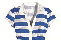 Ubrania i dodatki w kolorowe paski na wiosn� i lato 2012