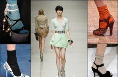 Skarpetki i pantofle - niezwyk�e po��czenie