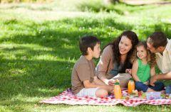Rodzinne sp�dzanie czasu na �wie�ym powietrzu