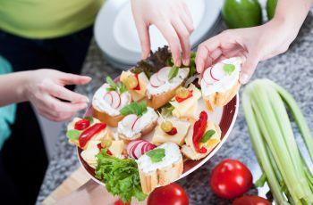 Kuchnia okazjonalna - Menu na babskie przyj�cie