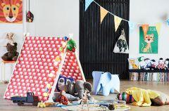 Namiot do pokoju dzieci�cego - DIY