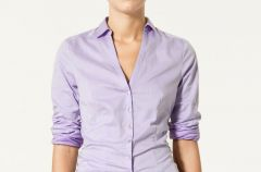 Bluzki i koszulki Zara na jesie� i zim� 2010/2011