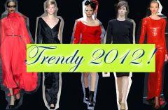 Elegancka czer� i czerwie� 2012