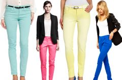 Spodnie na wiosn� - 5 modnych trend�w!