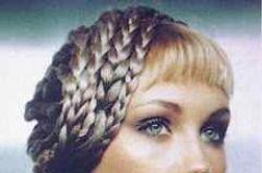 Pomys� na �lubn� fryzur�