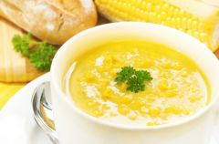 Meksyka�ska zupa kukurydziana