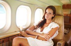 Luksusowa podr� samolotem!