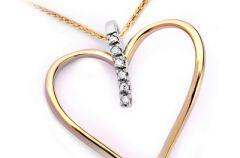 Na Walentynki - z�ote serce w prezencie!