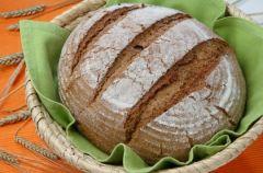Chleb �ytni z siemieniem lnianym