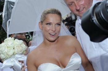 Joanna Liszowska po�lubi�a milionera - welon