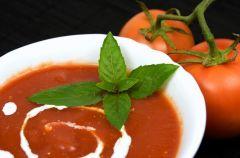 Zupa ze �wie�ych pomidor�w