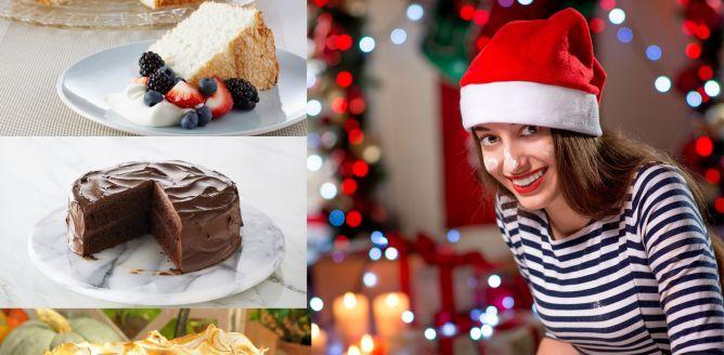 Ameryka�skie ciasta �wi�teczne Anio� i Diabe�