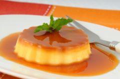 Desery mistrz�w: Crème caramel