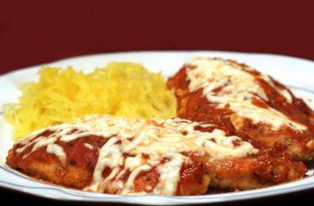 Kurczak w parmezanie - kolacja walentynkowa