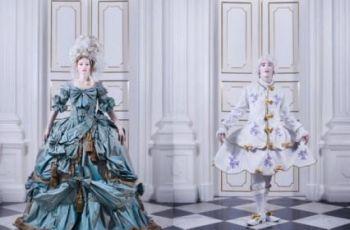 Rokokowa moda we wn�trzach wilanowskiego pa�acu - Maria Antonina