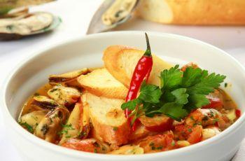 Crostini z ma��ami - kolacja walentynkowa