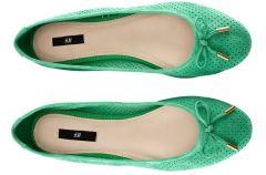 Baleriny i mokasyny H&M na wiosn� i lato 2013