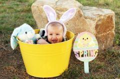 Wielkanocne jajo dla niemowl�cia