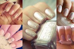 5 pomys��w na �lubny manicure