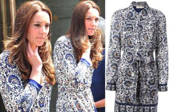 Ksi�na Kate nosi sukienk� z przeceny