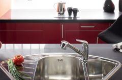 Akord czerwieni, czerni i nowoczesnego designu od Deante