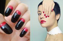 Moon manicure - trendy na jesie� 2012