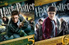 Harry Potter. Lata 5-6 - nowe kolekcjonerskie wydania DVD!