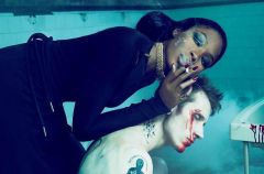 Naomi Campbell i jej brutalna sesja
