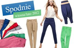 Trendy w spodniach na wiosn� i lato 2012