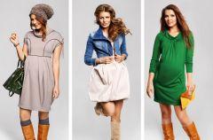 Ubrania ci��owe na jesie� i zim�