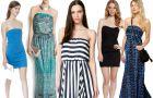 Sukienki bez rami�czek - idealne na lato 2013!
