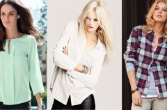 Koszule i bluzeczki H&M - jesie� i zima 2012/13