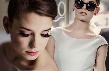 Panna m�oda i sesja �lubna - stylizacja na Audrey Hepburn