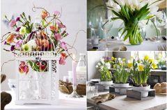 Najpi�kniejsze aran�acje kwiatowe w mieszkaniu