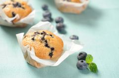 Jagodowe muffinki