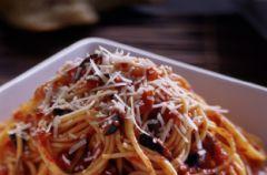 Spaghetti z owocami morza