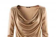 Ubrania i dodatki w kolorze z�ota i srebra na jesie� i zim�