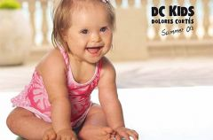 Dzieci z Zespo�em Downa zostaj� modelami w reklamach
