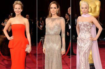 Oscary 2014 - kreacje gwiazd