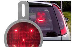 Komunikator samochodowy LED