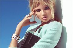Magdalena Fr�ckowiak w wiosennym lookbooku H&M!