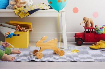 Zaj�czek na k�kach dla dziecka - DIY