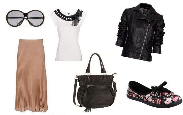 Plisowana spódnica - trendy z ulicy wiosna/lato 2012