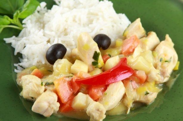 Potrawka z kurczaka z warzywami