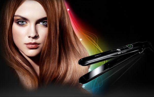 Bezpieczna stylizacja włosów z nową prostownicą