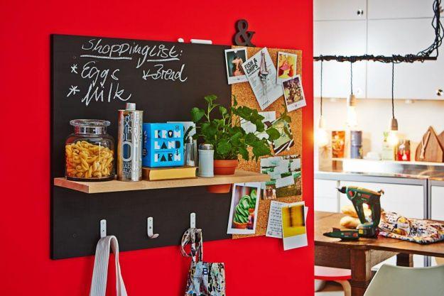 Tablica i organizer na ścianę - DIY